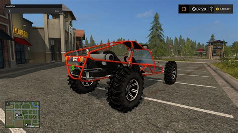 volkswagen buggy 2017 dune buggy v1 0 for fs 17 farming simulator 2017 17
