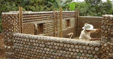 how to build houses with plastic bottles icreatived