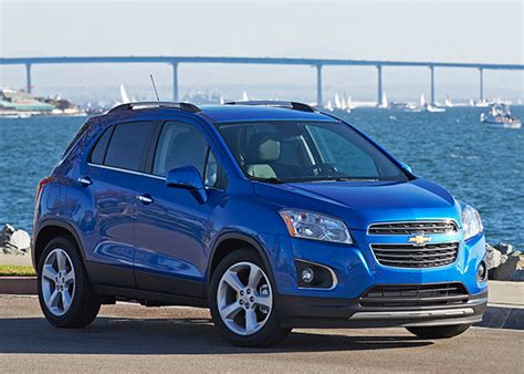 Where Is The Chevrolet Trax Built 2016 Chevrolet Trax Review