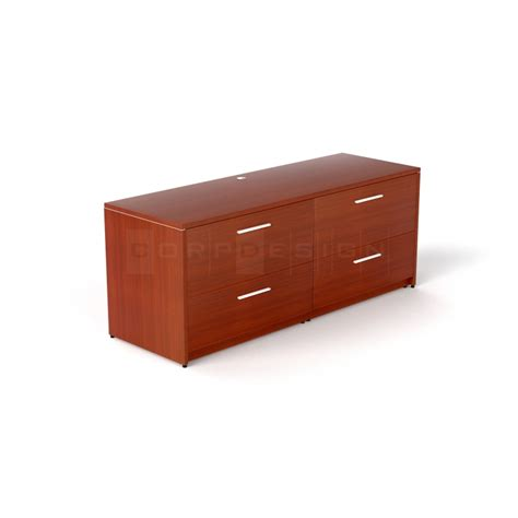 credenza with file drawers credenza with 4 drawer lateral file