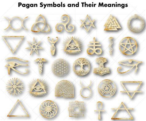pagan symbols and their meanings | exemplore