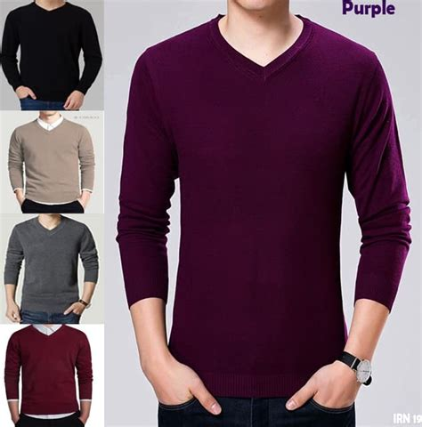 Sweater Basic Sweater Polos jual sweater rajut polos sweater v neck basic simple
