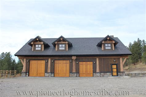 log home with 2 garages log home garage plans linwood custom log home special construction features pioneer