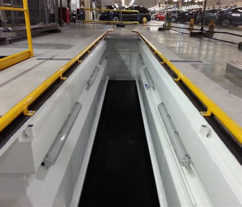 prefab pit prefabricated vosa vehicle inspection pits garage and