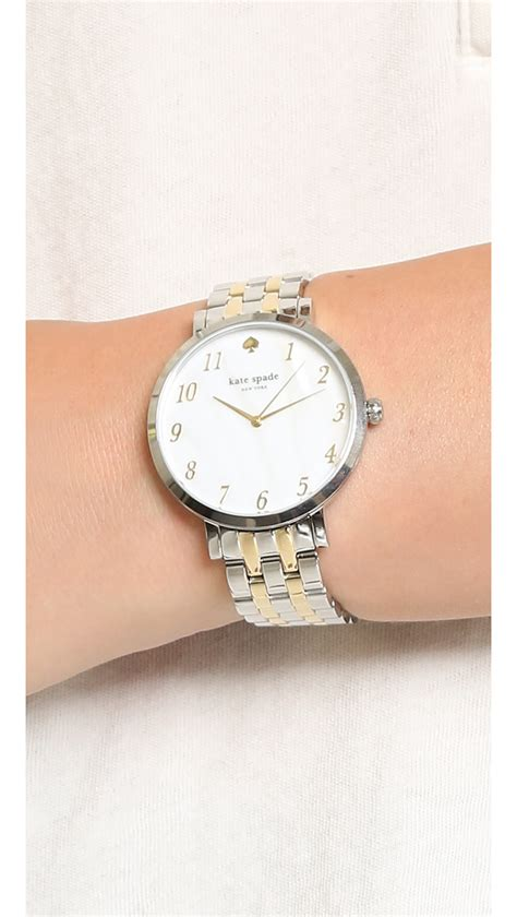 Kate Spade Two Tone kate spade new york monterey two tone gold in