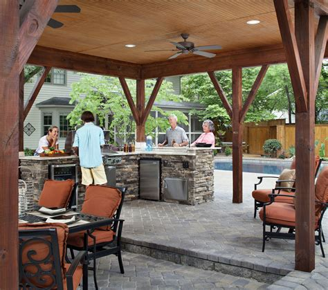 grilling porch covered patio archadeck of charlotte