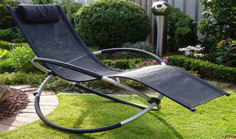 chaise longue bascule pliable rocking chair pour jardin