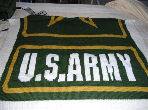 army afghan pattern 74 best crochet military s afghans flags images on