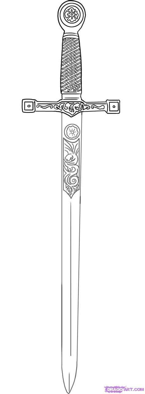sword in the stone tattoo designs sword tattoos excalibur sword drawing sword tattoos
