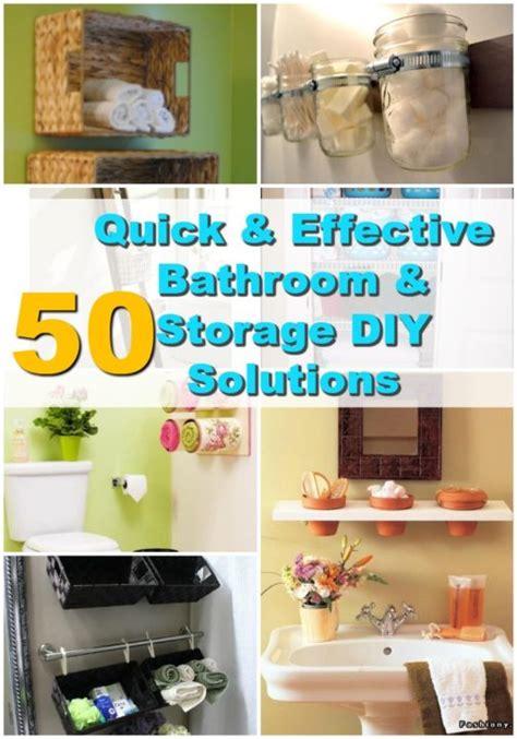 50 brilliant bathroom storage hacks and organization diy