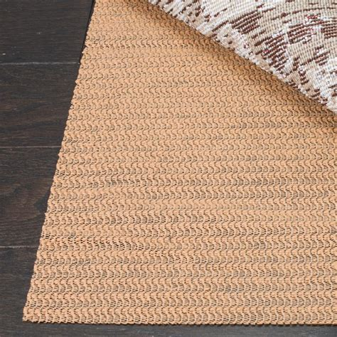 Safavieh Rug Pad Safavieh Grid Beige 8 Ft X 11 Ft Non Slip Synthetic