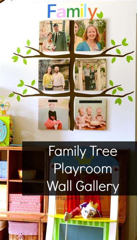 Family Tree Playroom Wall Gallery Shutterfly Family Tree Template