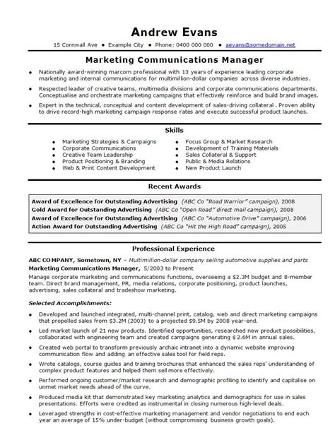 marketing coordinator resume sample 4 marketing coordinator resume