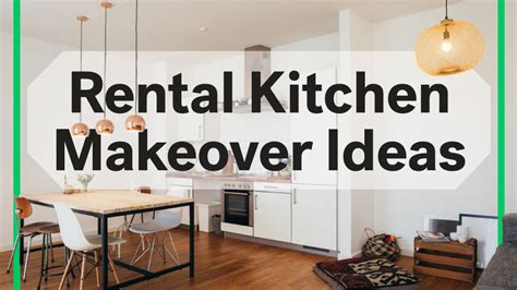 8 Rental Kitchen Makeovers Under $100 ? Life at Home