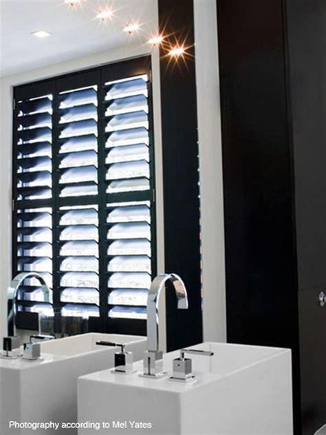 black plantation shutters 40 best bathroom inspiration plantation shutters images