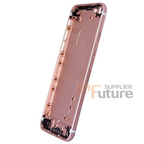 Iphone 6 Aluminium Back Gold apple iphone 6s back cover without apple logo 7th aluminum