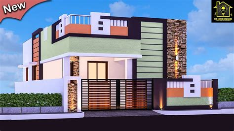 small house front elevation design single floor