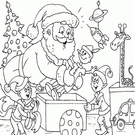 im genes de navidad para colorear pintar a papa noel archivos dibujos animados para colorear