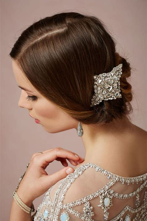 Wedding Hairstyles For Brides With Glasses by Product Castile Clip From Bhldn Wedding Hairstyles