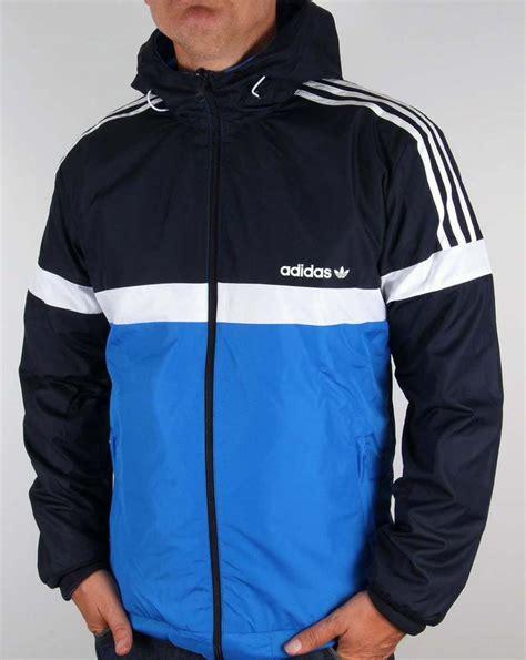 Jaket Adidas Navi adidas originals reversible windbreaker in navy bluebird jacket coat ebay