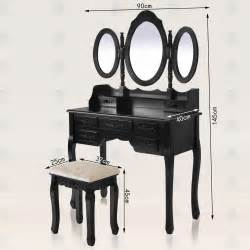 Vanity Dressing Table Ebay Shabby Chic Dressing Table Vanity Makeup Dresser Set 7