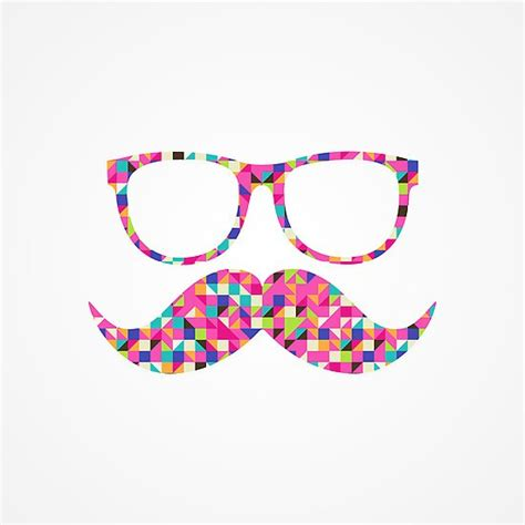 girly mustache wallpaper quot funny girly pink abstract mustache hipster glasses quot by