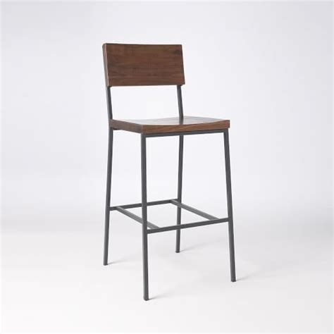 West Elm Rustic Counter Stool by 1000 Ideas About Rustic Bar Stools On Bar