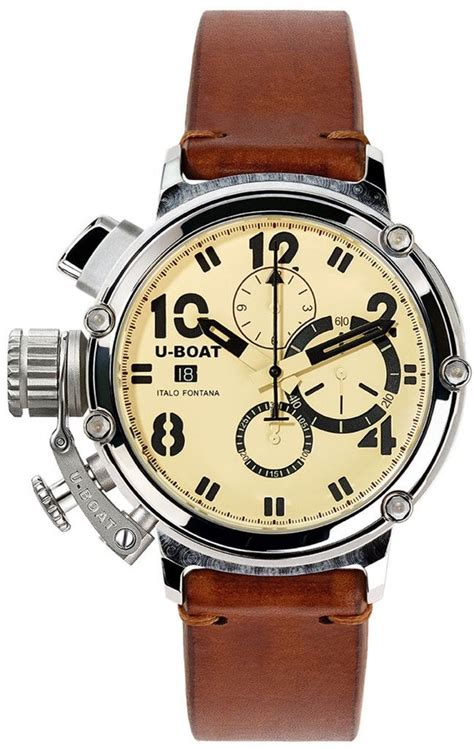 u boat watch chimera u boat watch chimera 48 925 silver limited edition men s