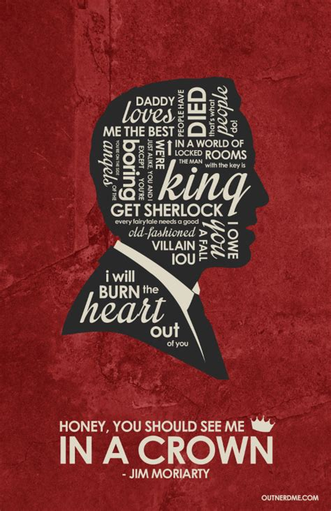 Poster Quote 008 jim moriarty inspired quote poster by outnerdme on deviantart