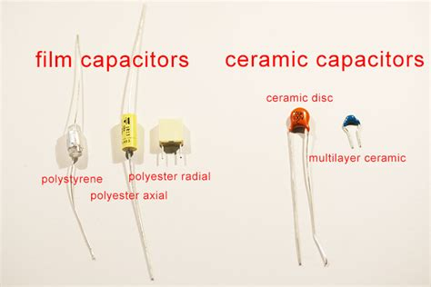 types of capacitors for audio elements mic pre