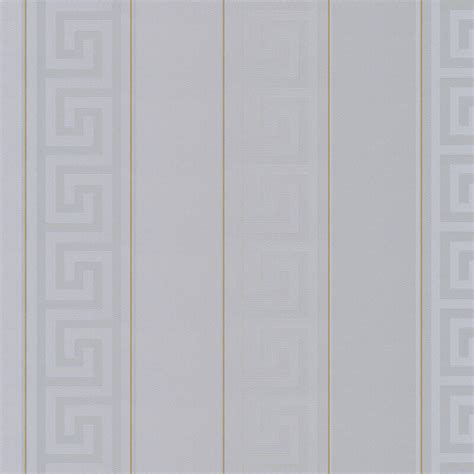 grey versace wallpaper versace greek key stripe grey metallic wallpaper 93524 5