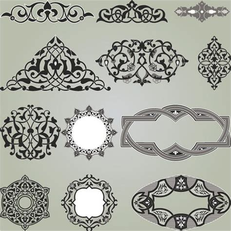 arabic pattern border 17 best images about islamic on pinterest cake borders