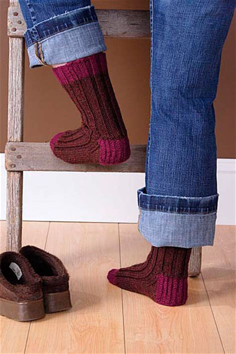 knitted boot socks free pattern boot socks pattern knitting patterns and crochet