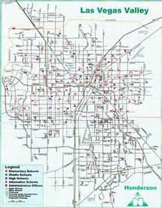 Las Vegas Zoning Map by Las Vegas Schools Map