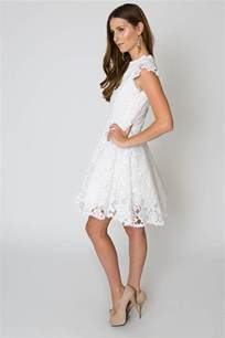 white cocktail dresses white lace dress dressed up
