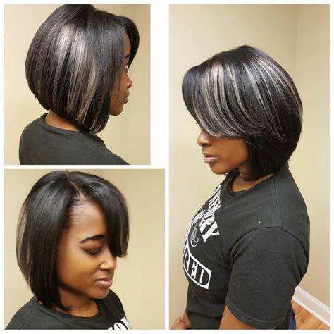 10 sexy bob hairstyles for black women women hairstyle black and blonde bob hairstyles hottest