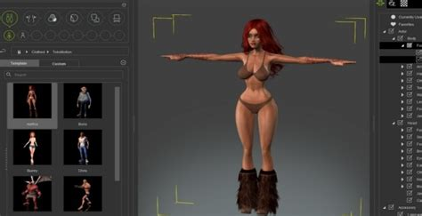 3d character creator reallusion iclone character creator 1 4 adds sculpting support one angry gamer