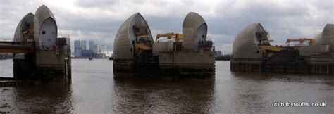 thames barrier extension thames path thames barrier to millennium dome baby routes