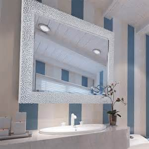 Modern Wall Hung Vanity Framed Vanity Mirrors Framed Bathroom Vanity Mirrors