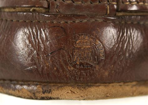 Worn Leather by Lot Detail 1930s Ernie Philadelphia Eagles
