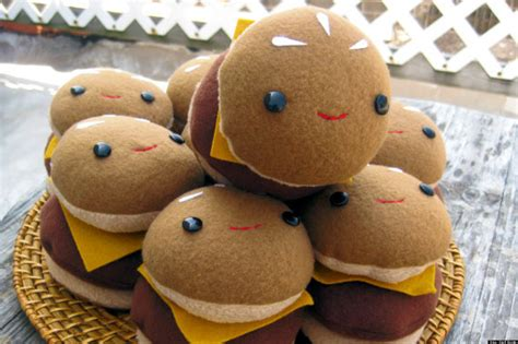 donald doll croissant plush food by steff bomb on etsy is completely