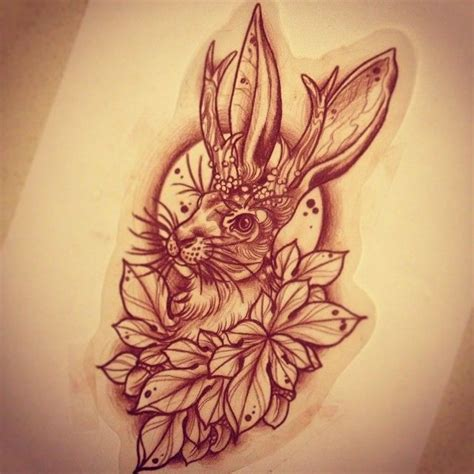 jackalope tattoo jackalope for wednesday new sleeve