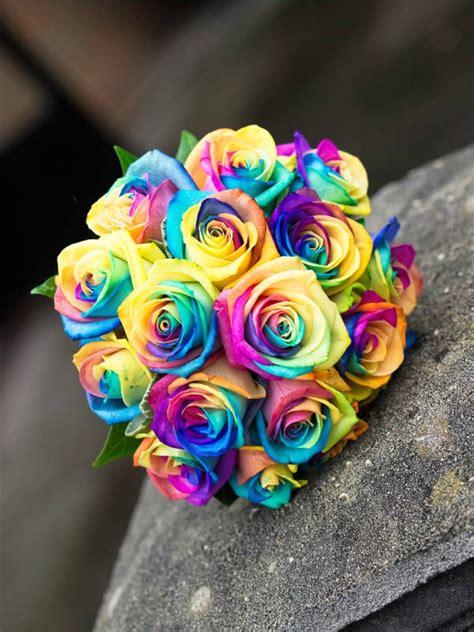 rainbow bouquet image 888906 by korshun on favim