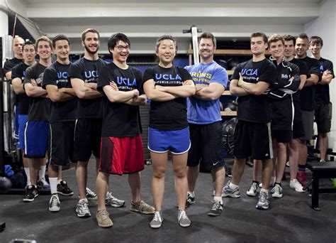 Ucla Computer Science Mba by Ambitious Ucla Powerlifting Team Rejects Stereotypes About