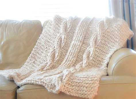 easy knitted afghan patterns cable knit afghan pattern easy free in a stitch