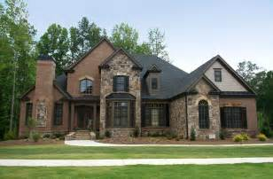 brick homes traditional home designs awesome combination wall