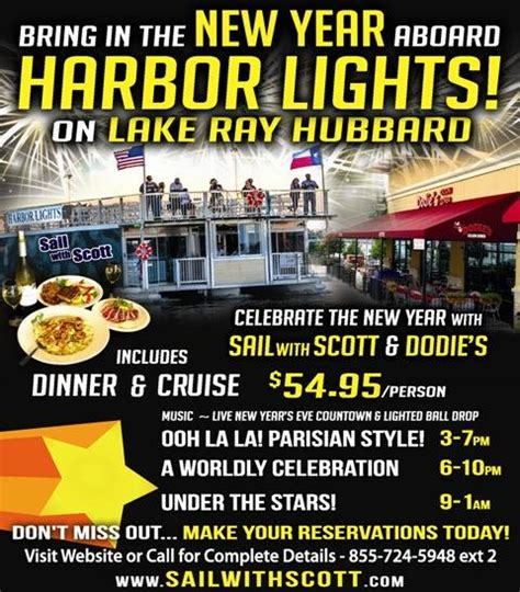 new year s eve dinner cruise on lake ray hubbard blue - Dinner On A Boat Lake Ray Hubbard