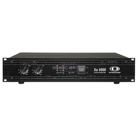 Power Lifier Dynacord dynacord xa 4000 system lifier 1100 watt sub 900 watt top