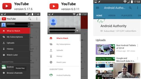 youtube design guidelines download and install youtube 6 0 11 apk material design