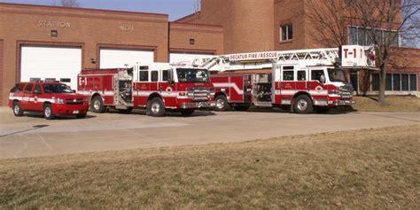 fire station  city  decatur fire department